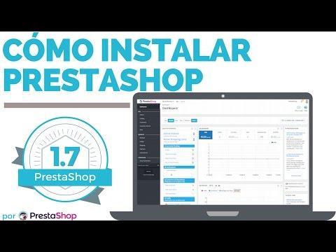 Cómo instalar PrestaShop 1.7