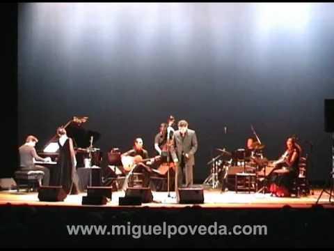 """Miguel Poveda & Martirio """"No me quieras tanto"""" en el espectáculo """"Romance de valentía""""-08.07.2005"""