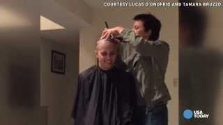 Man proposes on his girlfriend's last day of chemo