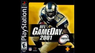 NFL GameDay 2001 (PlayStation) - Tennessee Titans vs. St. Louis Rams