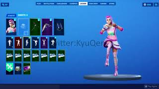 Fortnite *NEW* *LEAKED* Starlie skin showcased with Emotes
