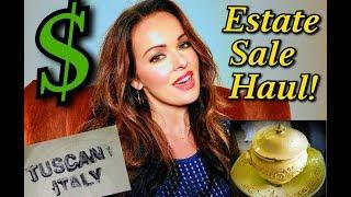 Huge Estate Sale and Facebook Marketplace Haul