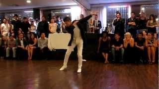 Carlos Cordova  6th ANNUAL SOLO SALSA DANCE COMPETITION FINALS 2012