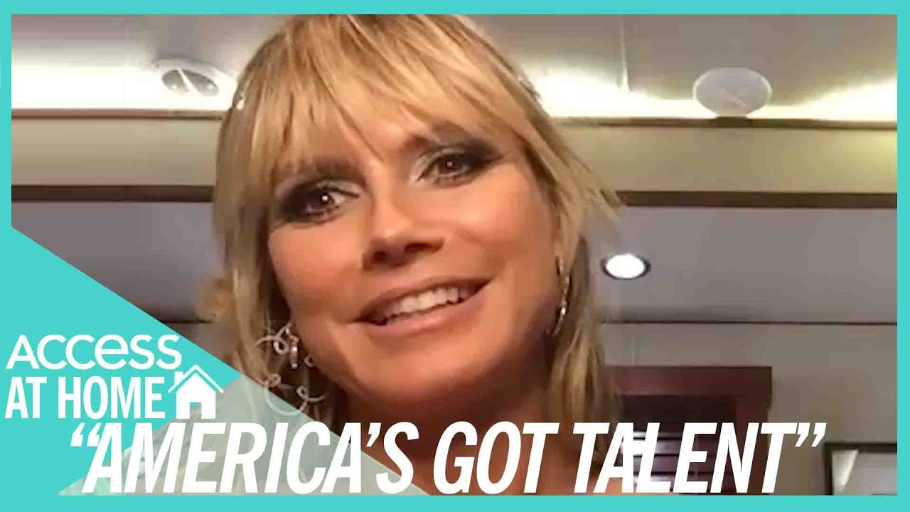 Heidi Klum Wishes That Simon Cowell Will Join 'AGT' Finale
