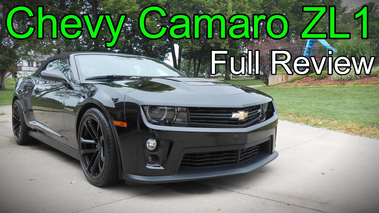 2014 / 2015 chevy camaro zl1 convertible: full review - youtube