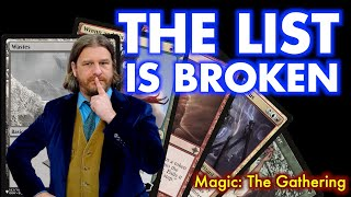The List Is Broken | Here\x27s How To Fix It | Magic The Gathering