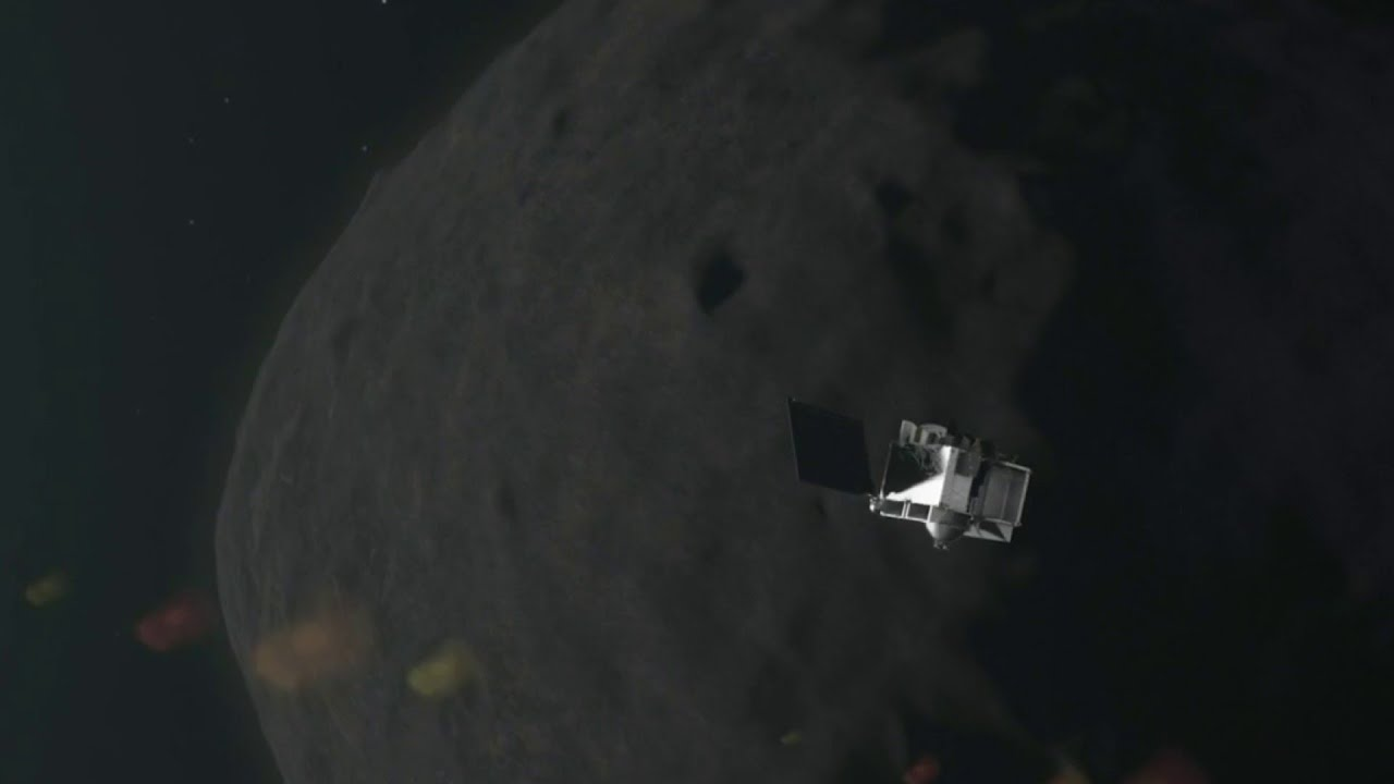 NASA touches an asteroid -- what to know - Click On Detroit | Local 4 | WDIV