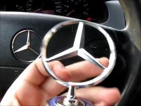 Штерн, звезда, прицел на Mercedes  W210