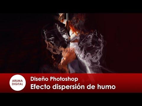 Photoshop 269 Composición Efecto Dispersión De Humo