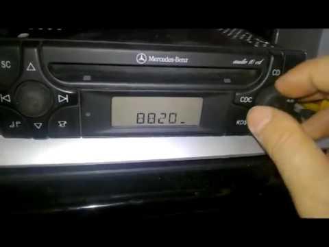 Autoradio mercedes audio 10 cd mf2910 code trovare codice for Mercedes benz audio 10 code
