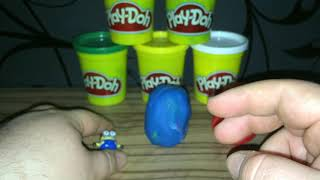 Play Doh Color Surprise Eggs Toys Collection ep 3