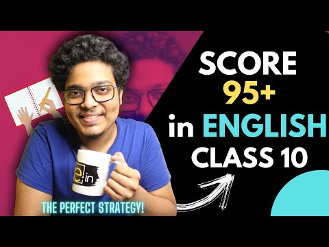 How to Score 95% in English Class 10 | Class 10 2021 How to Study English Class 10 !
