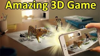 Amazing Android Augmented Reality 3D Game By RcmT, World best 3d game ever