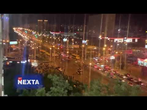 24 Канал: Другий день протестів у Білорусі: підбірка відео