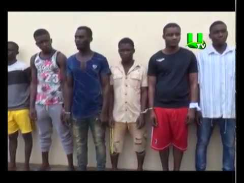 Five men jailed 150 years for robbery
