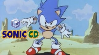 Sonic CD playthrough (Gamecube)