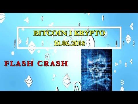 Bitcoin i Kryptowaluty 10.06.2018 Flash Crash