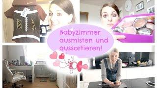 XL VLOG | Bei Isabeau zum Frühstück | Schwanger - 25 SSW |Babyzimmer ausmisten & aussortieren