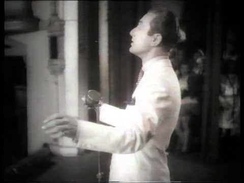 """Arthur Tracy, """"Marta"""" & """"Trees"""" 1937 footage."""