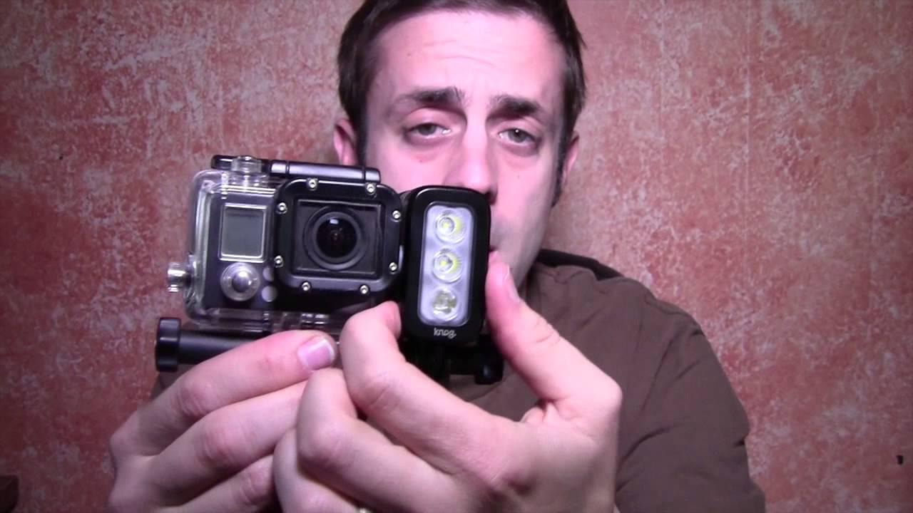 Knog Qudos LED Action Video Light For GoPro Gear Review ...