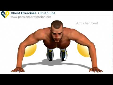 Tập cơ tay - Cơ ngực - Push Ups