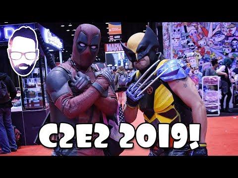 C2E2 2019! Chicago Comic and Entertainment Expo!