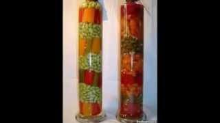 Красивые декоративные бутылки для кухни!