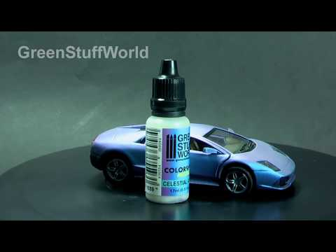 Chameleon Paints Tutorial 3 - Painting with AIRBRUSH (English)
