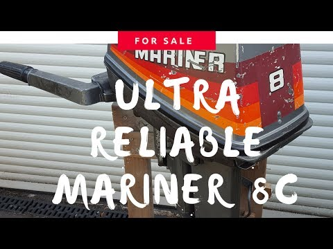MARINER 8C 2 STROKE - FOR SALE