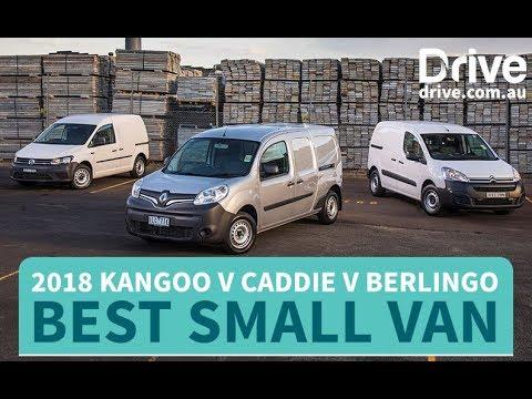 Best Small Van: 2018 Renault Kangoo v Volkswagen Caddy v Citroen Berlingo | Drive.com.au