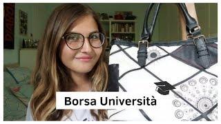 BTS #1 | Cosa c'è nella mia borsa da Università? | Margherita Savelli ♡