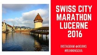 Swiss city marathon Lucerne 2016 - semi marathon