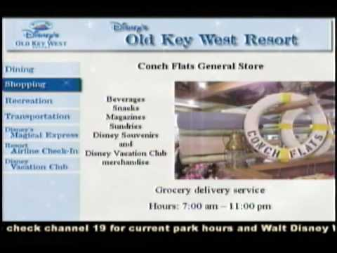 Your Resort TV Channel 19 Old Key West WDW