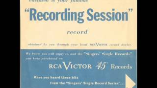 RCA Victor's Recording Session (1951) Thumbnail
