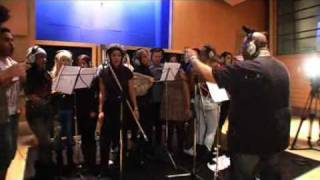 Video The X Factor 2009 - Backstage recording of You Are Not Alone download MP3, 3GP, MP4, WEBM, AVI, FLV Maret 2018