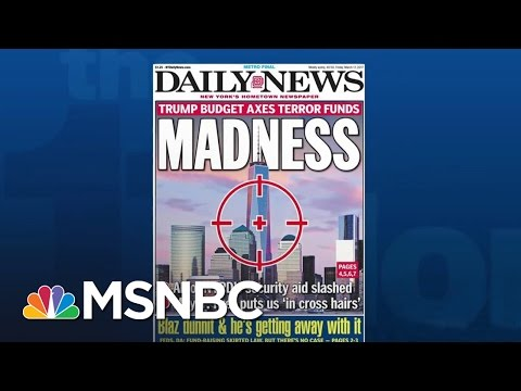 Critics Warn President Trump's Budget Cuts Could Hurt Terrorism Fight | The 11th Hour | MSNBC