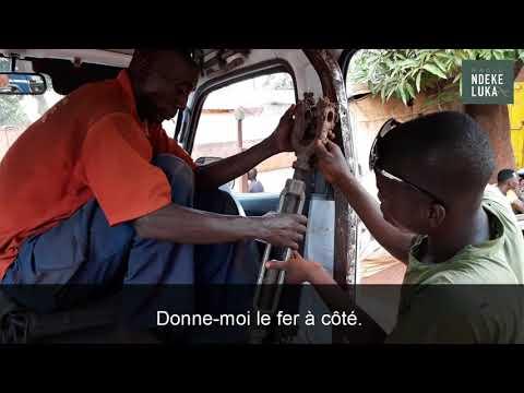 Soudeur en Centrafrique : tranche de vie