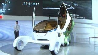 China sets its sights on the global car market