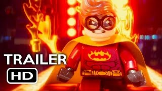 The LEGO Batman Movie Comic Con Trailer (2017) Will Arnett Animated Movie HD