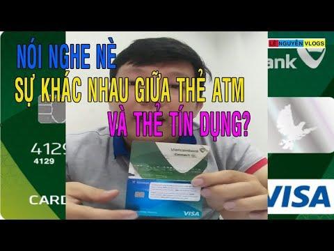 Sự Khác Nhau Giữa Thẻ ATM Và Thẻ Visa, Thẻ Tín Dụng - Lê Nguyễn Vlogs