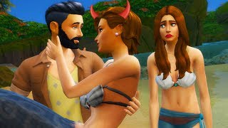 The Hated Mermaid Twin: A Twins Revenge | A Sad Sims 4 Story
