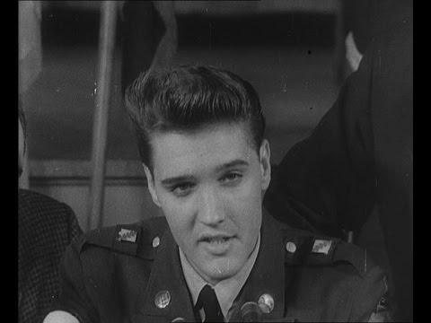 Elvis Quits U.S. Army (1960)