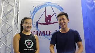 Aerial Hoops & Silks with Adelene Chua, Founder of Adedance Aerial