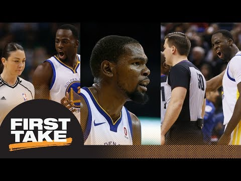 Stephen A. on Warriors: They've shown they can't reel it in emotionally | First Take | ESPN