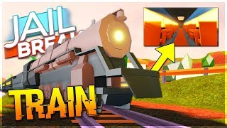 🔴ROBLOX JAILBREAK TRAIN UPDATE! ! SERVER CONTROL, NEW TRAIN UPDATE, NEW BATTLE ROYALE IN JAILBREAK