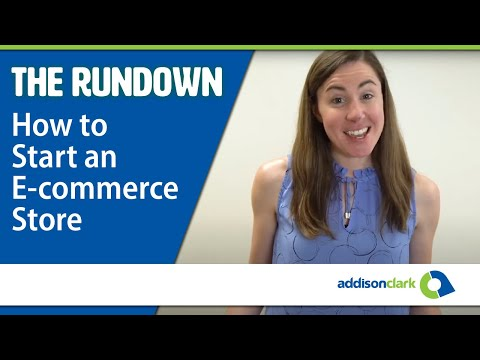 The Rundown: How To Start an E-commerce Store