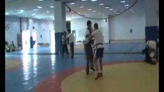Wrestling Sparing, Shanghai University of Sport (Part 1)