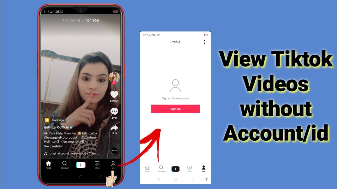 Use Tiktok Without Account How To View Tiktok Videos Without Account Or Id Or Sign Up Youtube