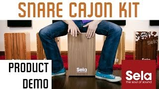 Snare Cajon Kit by Sela