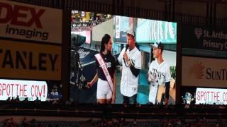 National American Miss Florida Teen 2014 - Tampa Bay Rays Game